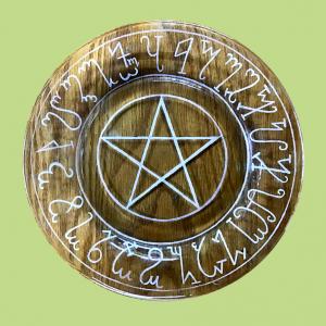 Pentagram Plate